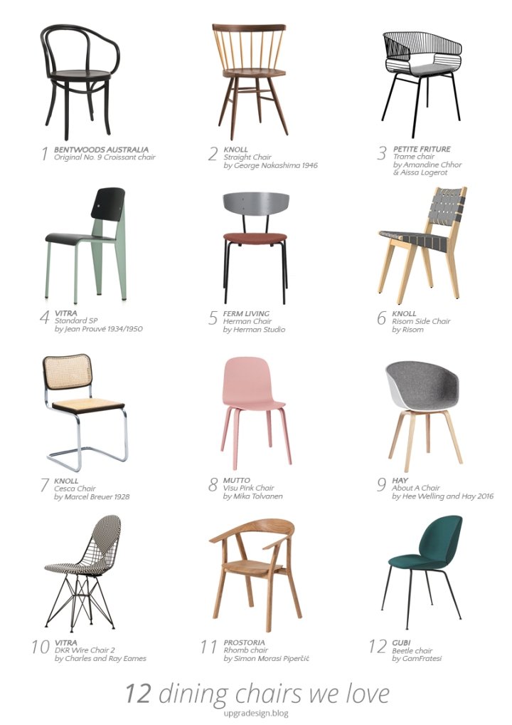 Amazing dining chairs to mix and match