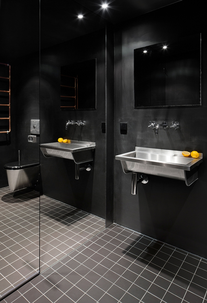 Home inspiration | bathroom design idea and layout organization | black