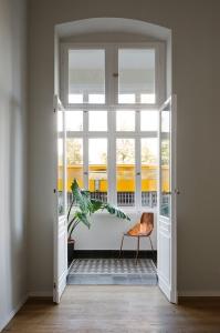 Home inspiration | winter balcony | floor tile pattern