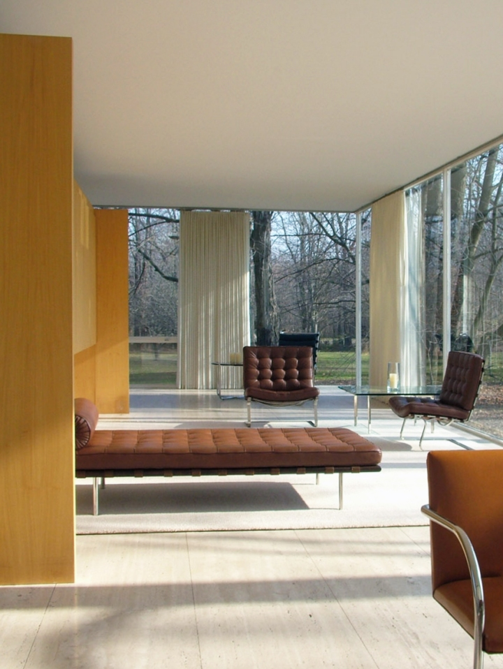 Why simple will always be trendy: Mies van der Rohe - The Farnsworth House