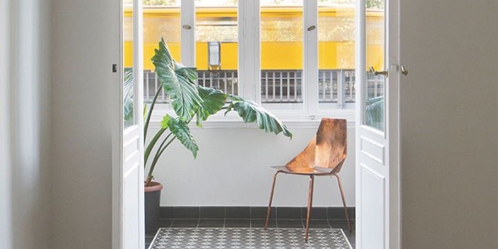 Malte Wittenberg and Studio BLB redesigned 19th-century apartment into an art space with both private and publicuse