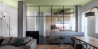 BLAARCHITETTURA - Morrissey / Beppe Giardino photography / uglass translucent partition / apartment remodel / kitchen / wire partition