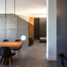 Interior lighting | sparkle lighting | interior design | concrete | dining space | BLAARCHITETTURA - Portland / Beppe Giardino photography / concrete element / apartment remodel / dining space