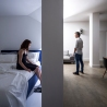 BLAARCHITETTURA - Portland / Beppe Giardino photography / concrete element / apartment remodel / bedroom