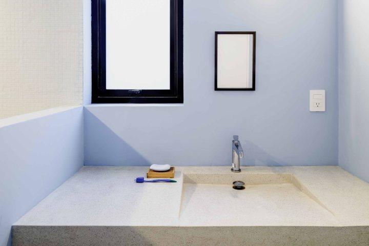 CampoTaller - Casa S E L | concrete sink | bathroom | minimalist