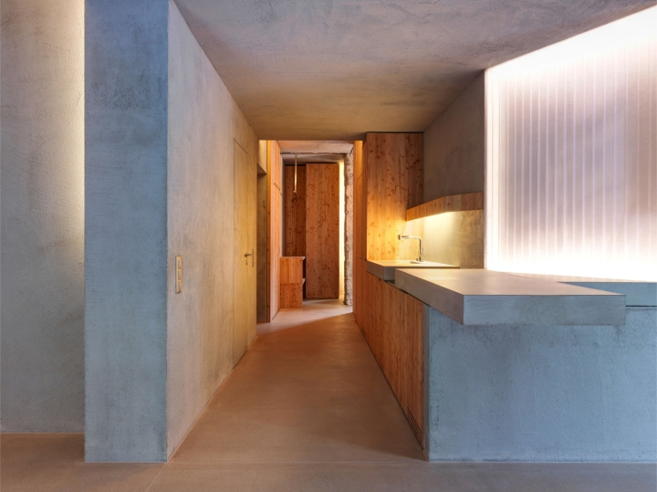 Gus Wüstemann Architects - House Z22 | kitchen | concrete kitchen