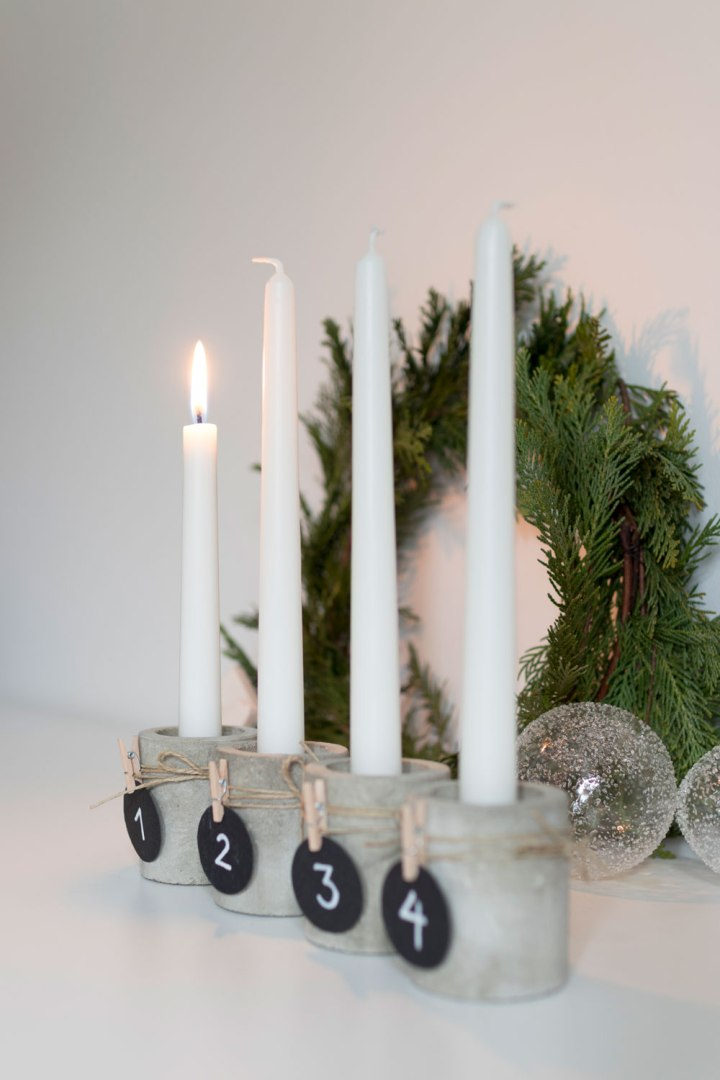 Christmas styling | Advent wreath | Advent candles | do it yourself | DIY