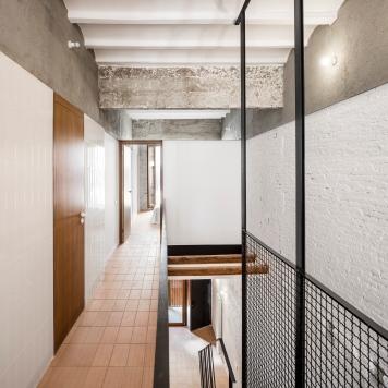 Räs studio - apartment renovation la Diana - hall