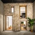 Räs studio - apartment renovation la Diana - outdoor space - patio