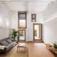 Räs studio - apartment renovation la Diana - living room - living space