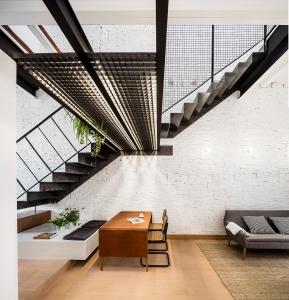Räs studio - apartment renovation la Diana - stair design - stairs
