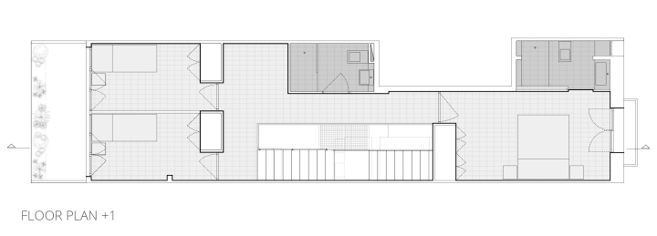 Räs studio - apartment renovation la Diana - floor plan