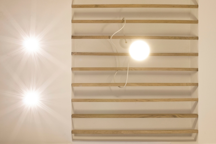 Apartment remodel in Zagreb | ceiling detail | lighting