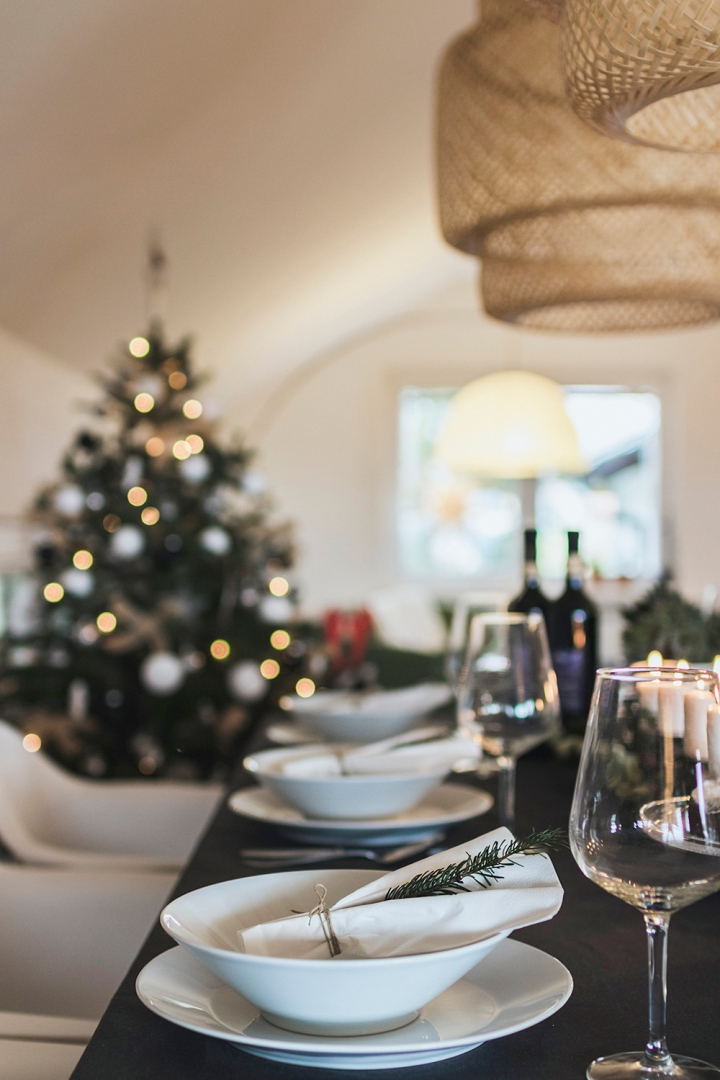 Christmas table styling | table inspiration | Christmas dinner