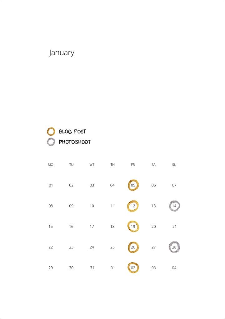 2018 calendar | free printable calendar | theme calendar