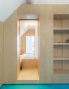 Bureau Fraai – Amsterdam urban loft   plywood   birch plywood   plywood in interior   bedroom   box bed