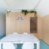 Bureau Fraai – Amsterdam urban loft | plywood | birch plywood | plywood in interior | dining space