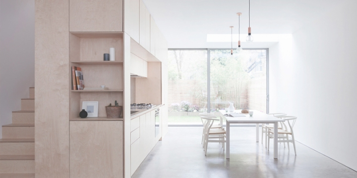 How to transform a space with plywood