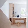 Larissa Johnston Architects - Islington Maisonette | plywood | plywood in interior | plywood workspace