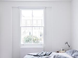Larissa Johnston Architects - Islington Maisonette | plywood | bedroom | white bedroom