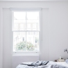 Larissa Johnston Architects - Islington Maisonette | plywood | bedroom | white bedroom