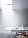 Larissa Johnston Architects - Islington Maisonette | plywood | skylight | dining space