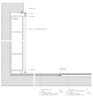 Apartment remodel in Zagreb | entrance storage detail