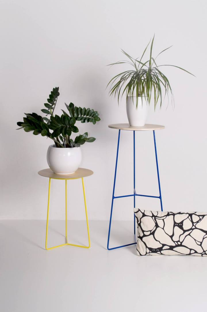 Blanko - Wire stand | product design | furniture design | wire stand | wire plant stand