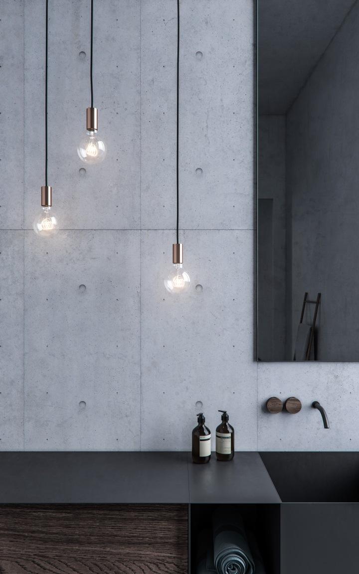 Luminis lamps - Simple copper | product design | lamp design | copper details | lighting