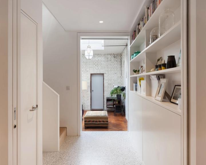 A+Architecture - Oldfield Road | terrazzo | terrazzo floor | light terrazzo