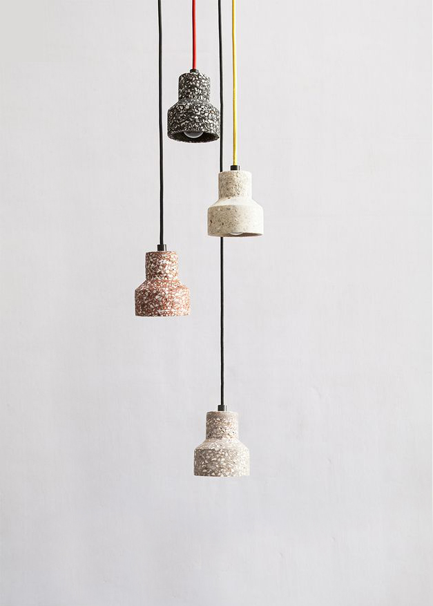 BENTU - TU pendant | terrazzo furniture | terrazzo lighting | terrazzo accessories
