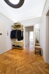 IFUB - Apartment S | entrance room | light | simple | brass | mirror