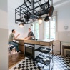 IFUB - Apartment S | kitchen | kitchen island | steel details