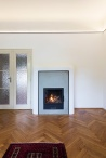 IFUB - Apartment S | living room | fireplace