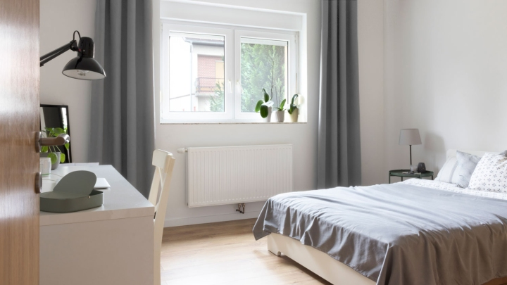 bedroom workspace ideas   organization   styling