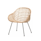 10 rattan chairs we love | Forma Living - Comet Basket Chair | upgradesgn