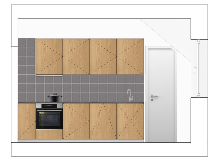 kitchen planning | ikea | new kitchen | tiles | wood cabinets