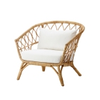 10 rattan chairs we love | IKEA - STOCKHOLM 2017 by Nike Karlsson | upgradesgn