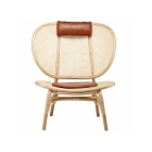 10 rattan chairs we love | NORR11 - Nomad Chair by Kristian Sofus Hansen andTommy Hyldahl | upgradesgn