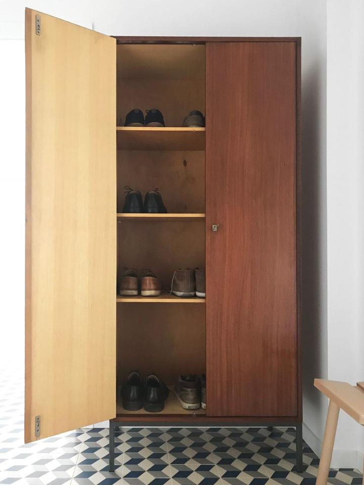 hallway closet-opened
