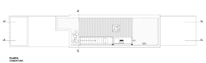 Estúdio BRA Arquitetura- CasaPirajá - rooftop plan