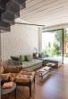 Estúdio BRA - Prajá House | narrow plot [ remodel | home remodel | contemporary | living room | modern | clean | green