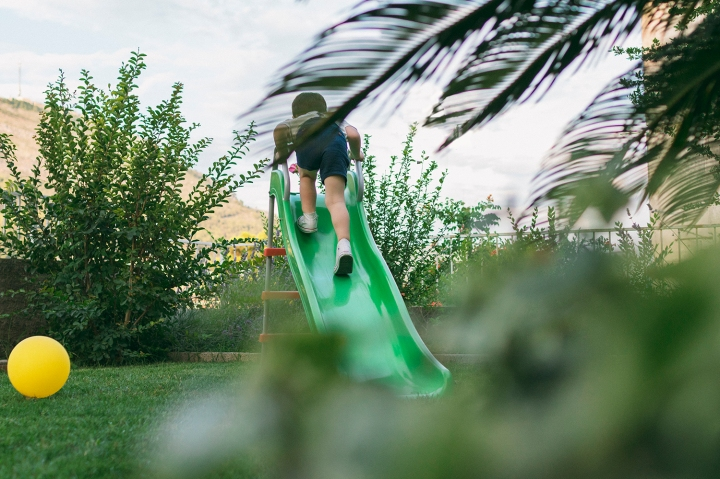 outdoor playtime | slide