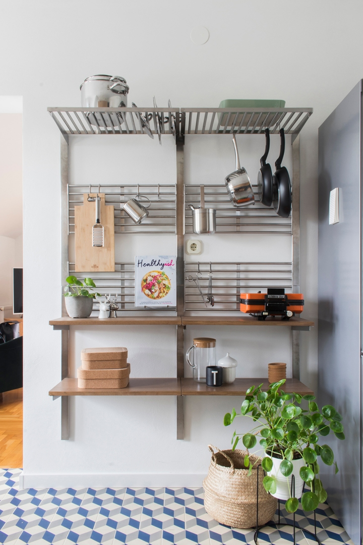 kitchen | kitchen design | ikea kitchen | ikea kungsfors | open shelves | decoration
