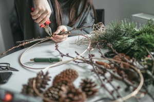christmas | christmas wreath | diy | christmas decorations