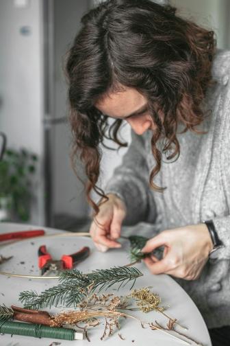 christmas | christmas wreath | diy | christmas decorations