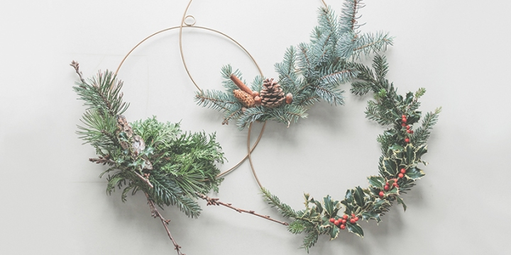 Christmas wreath DIY challenge