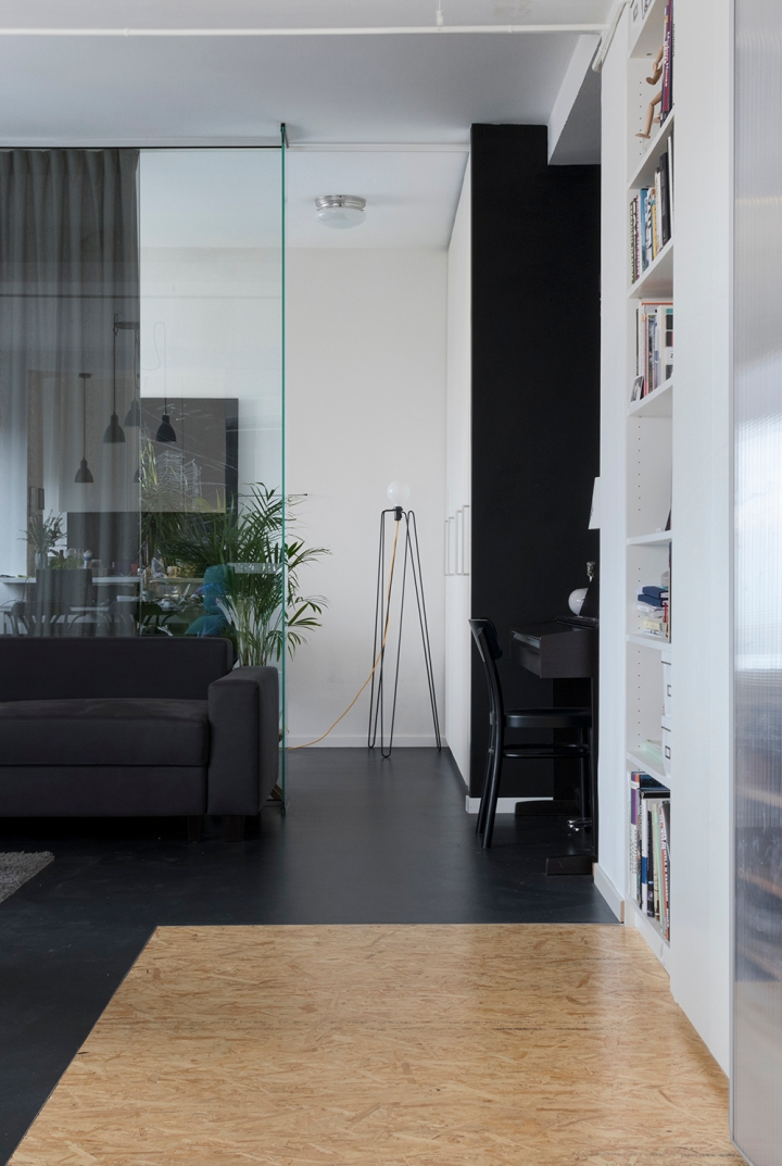 apartment | glass | glass divider | modern interior