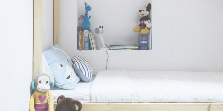Making of a perfect boy bed(room)