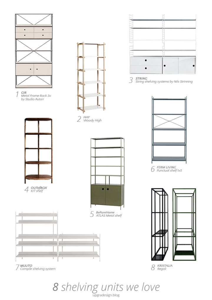 Shelving units we love